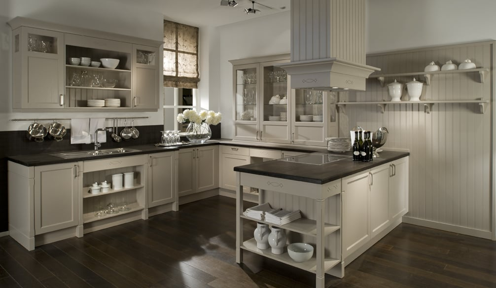 country style home living german custom kitchens. Black Bedroom Furniture Sets. Home Design Ideas
